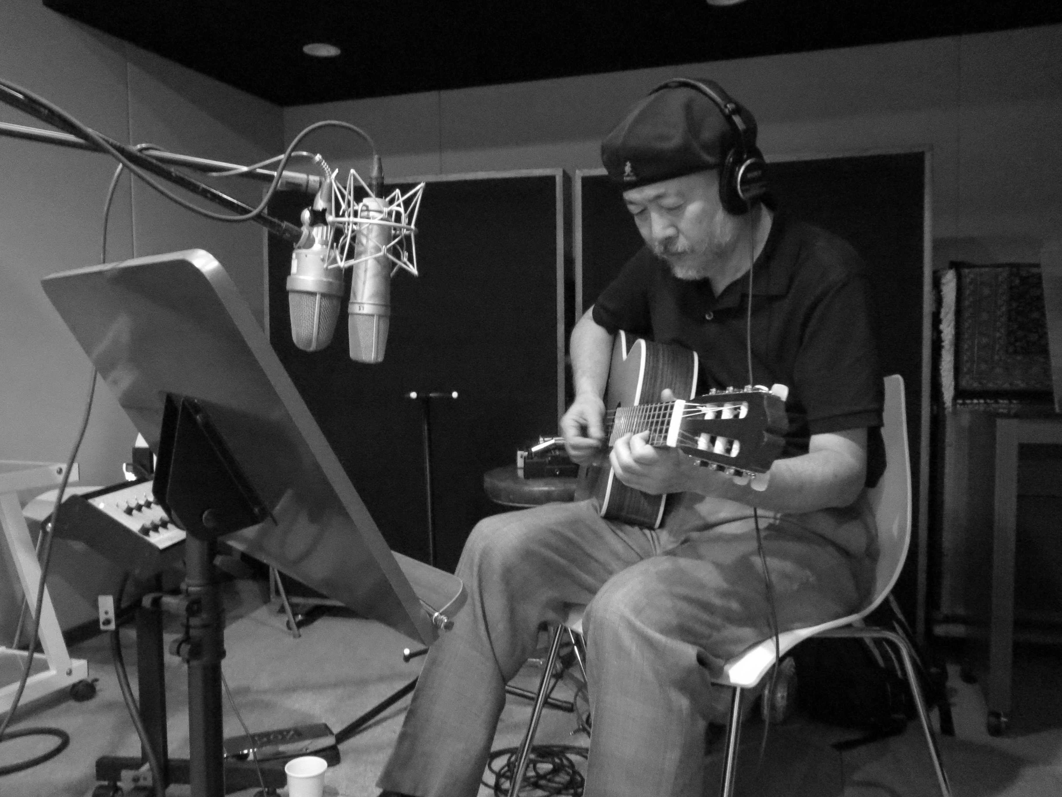 Dual Voice Recording Mitsuo Nagai on Guitar